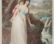 Hamilton, Hugh Douglas - Lady Conyngham & child